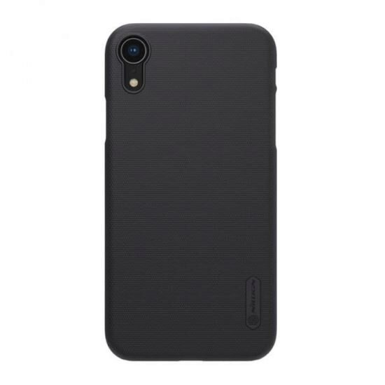 Husa Iphone XR + Suport Birou-Nillkin Frosted Shield Neagra