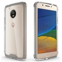 Husa Motorola Lenovo Moto G5 Plus - Iberry Care Shockproof Transparenta