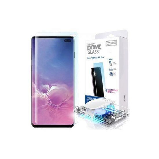 Folie Samsung Galaxy S10+ Plus-WhiteStone Dome Glass