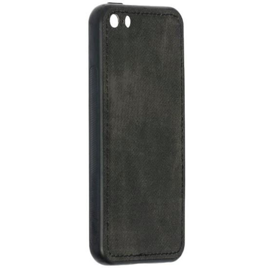 Husa Apple Iphone 5 /Iphone 5s Forcell Denim - Negru