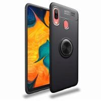 Husa Samsung Galaxy A20,Samsung Galaxy A30 - iberry Ring Case Negru